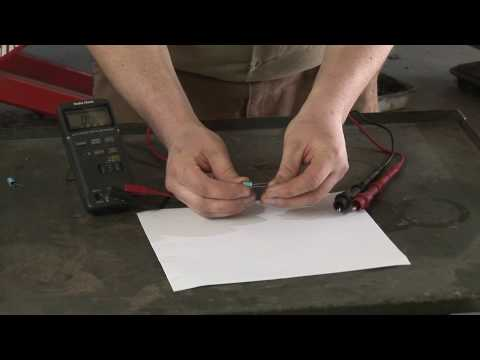 Auto Repair : How to Test Starter Capacitors