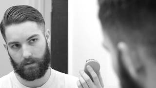 How to apply beard oil with a comb and style your beard