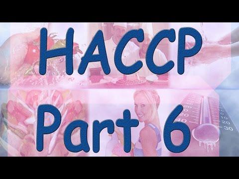 HACCP - Hazard Analysis Critical Control Points - Part 6 - Flow Diagrams