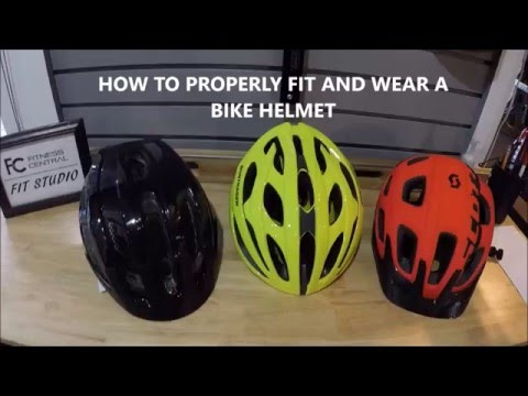 How to Properly Fit and Wear a Bike Helmet