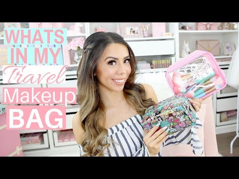 WHATS IN MY TRAVEL MAKEUP BAG? GOING ON MY HONEYMOON!🏝💕