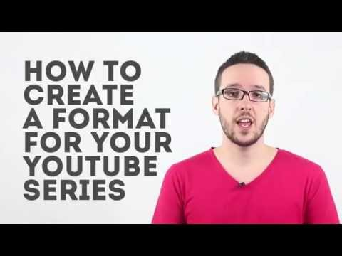 How To Create a Format For Your Youtube Show