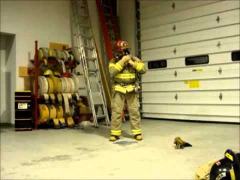 Firefighter Getting Ready!.wmv
