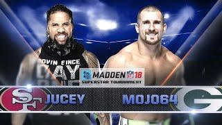 Madden 18 Tournament Rd. 1: JEY USO vs. MOJO RAWLEY - Gamer Gauntlet
