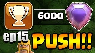 ONE MILLION GOLD!  TH11 Trophy Push to Top 200 ep15 | Clash of Clans