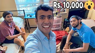 How Kanjoos Indians Live in USA! CHEAPEST APARTMENT EVER: ₹10,000 per month