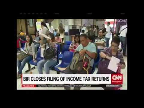 BIR closes filing of Income Tax Returns
