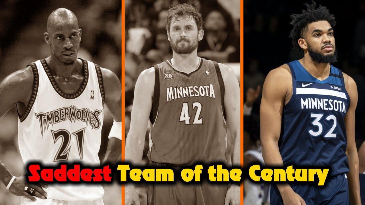 The SADDEST NBA Team Of The Century (Minnesota Timberwolves)
