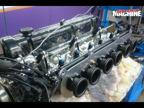 7500rpm Nissan L28 Engine Dyno - 350hp
