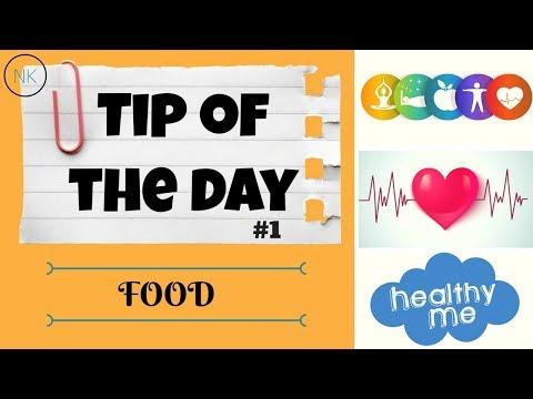 Daily Whatsapp Status Healthy Tip of the Day #1 | Food | Nainja Kapoor