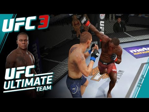 UFC 3 Ultimate Team Series Part 2 - Saint Preux v Duffee - EA Sports UFC 3 Ultimate Team Gameplay
