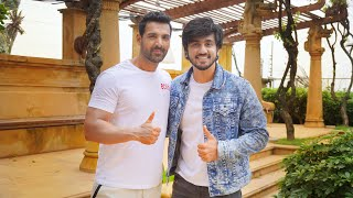 HANGING OUT WITH JOHN ABRAHAM