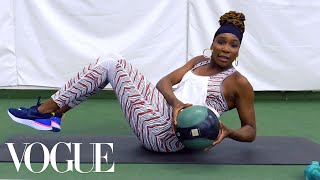 Venus Williams's 7 Best Workout Moves for a Grand Slam Body | Vogue