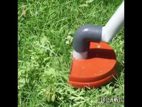 How to Make a Grass Cutter Machine