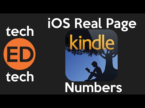 Kindle iOS App Page Numbers