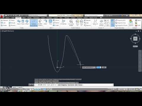 Plot a graph on AutoCAD from X,Y excel coordinates