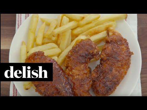 Copycat Chili's Honey Chipotle Chicken Crispers   Delish