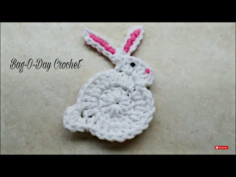 Day 5 Bunny Live Stitch Along Embroidery Bunny Face Applique Design