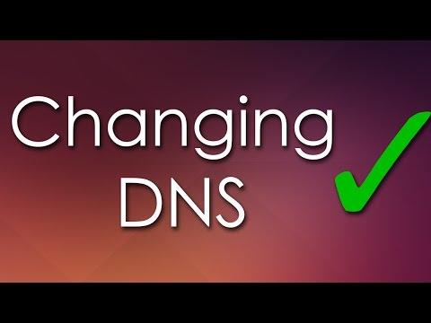 How To Change DNS (Ubuntu 14)