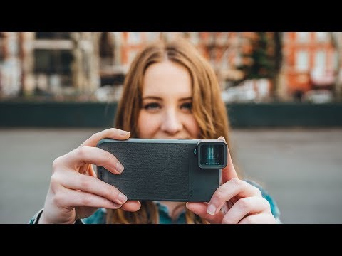 New Tech!! ANAMORPHIC Lens for your Phone & New iPad Unboxing