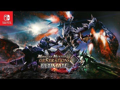 Monster Hunter Generations Ultimate - Announcement Trailer