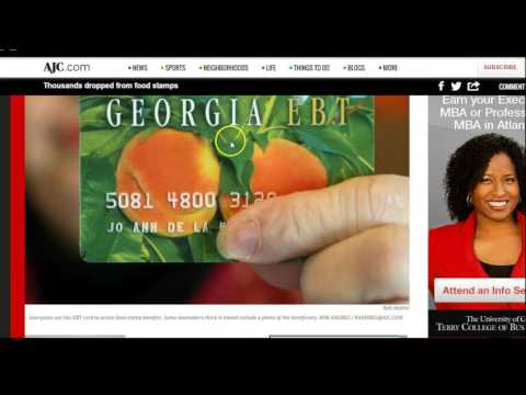 Government drops thousands from food stamps!
