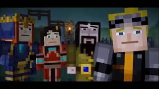 Lukas X Jesse If Only Minecraft Story Mode