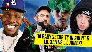 Da Baby's Security Almost Killed Someone! Lil Xan vs Lil Jumex BEEF
