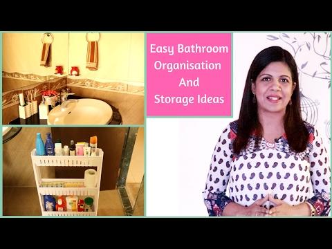 Bathroom Organization And Storage Ideas | Unfurnished Bathroom