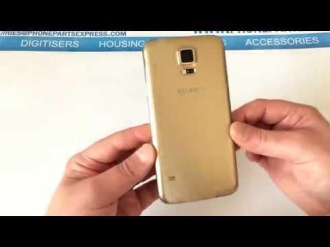 Samsung Galaxy S5 Gold Quick Look UK