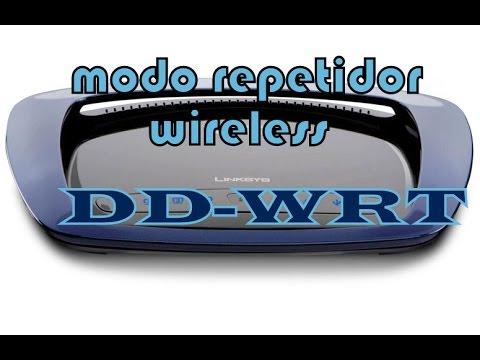 Configurar router con firmware DD-WRT en modo repetidor wireless