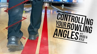 Bowling Tips | How To Control Your Angles and Throw More Strikes | Brad and Kyle