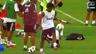"""Marcelo vs Fabio Coentrao: """"The best battle of Madrid""""   [HD, 720p] by Kirill Khimenko"""