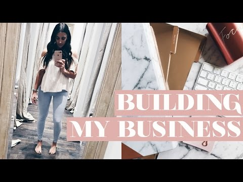 I GOT A PO BOX! + HOW I AM BUILDING MY NEW BUSINESS AND WEBSITE
