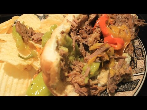 Italian Beef Sandwich Recipe Juicy and Tender