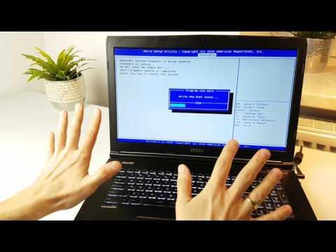 Jak Zaktualizować BIOS Flash USB w laptopie MSI GE72 6QC? | ForumWiedzy