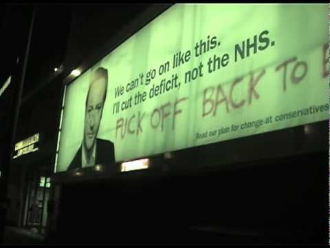 David Cameron F-Off Back To Eton