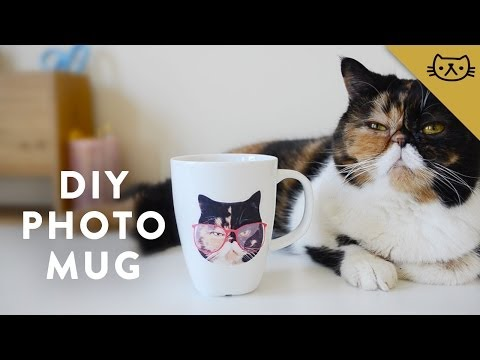 DIY Waterslide Photo Transfer Mug