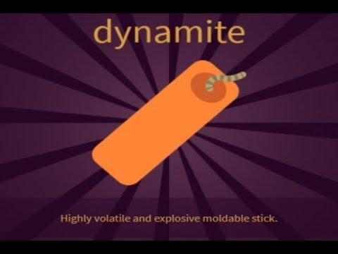 LITTLE ALCHEMY 2- how to make DYNAMITE