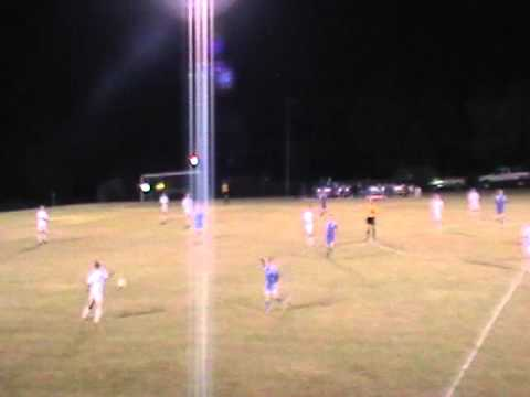 Best High School Soccer Goal Build Up 2010 from Kick Off - 7 touches - Law Scores, Assist Schlick