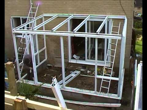 Building a Conservatory (Timelapse)