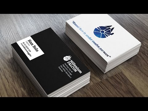 How To Create a Print Ready Business Card Design