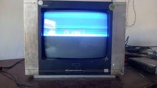 Crt Tv Half Screen Problem /philips tv repair / Crt Tv