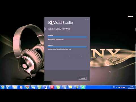 Install Visual Studio 2012