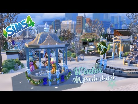 The Sims 4 - Community Build - Winter Wonderland