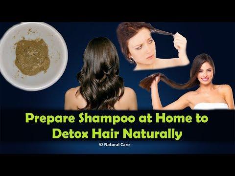 Prepare Shampoo at Home to Detox Hair Naturally
