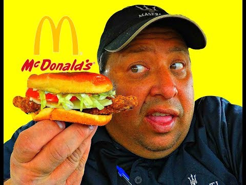 McDonald's® Garlic White Cheddar with Buttermilk Crispy Chicken Review!