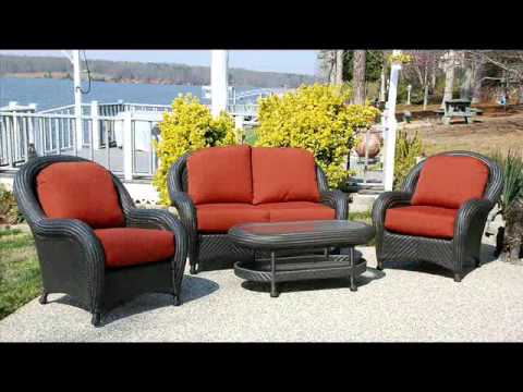 Resin Patio Wicker Furniture