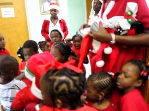 Brades Nursery School Serenading at OCM