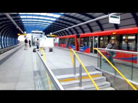London City Airport Station Train Railways Film